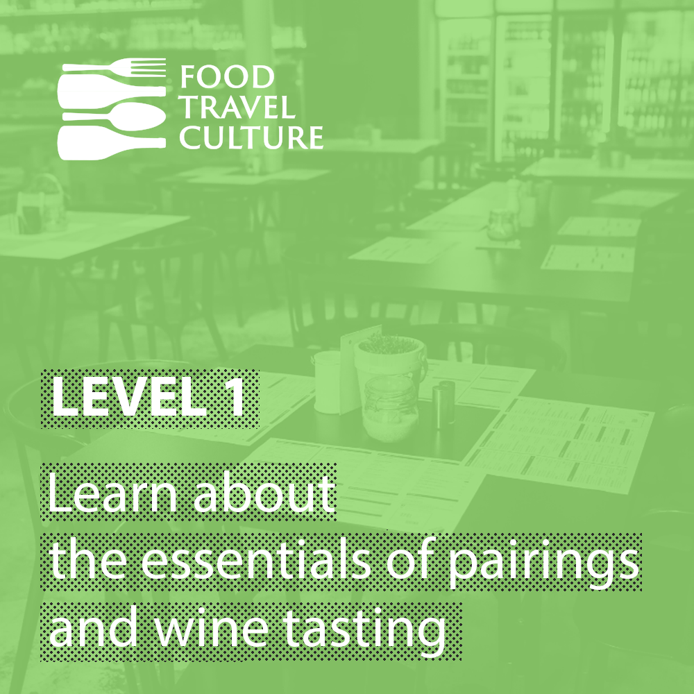 Food and Wine Pairing Online Course Level 1